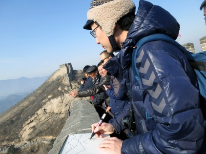 Myself, at the Great Wall of China