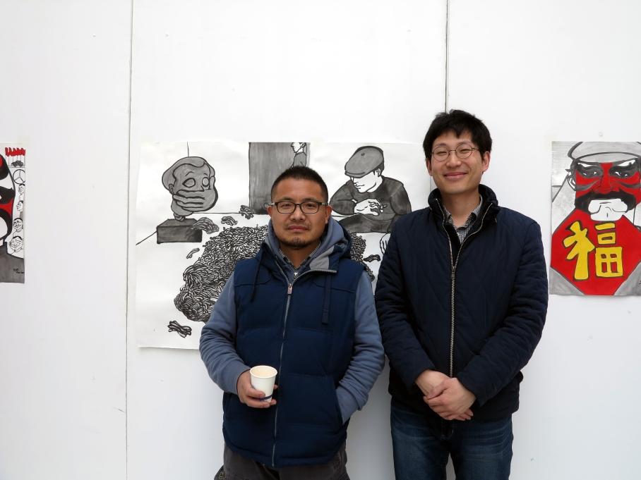 Mr. Liu Shuiyang (left) and myself